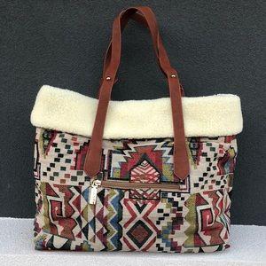 New Tribal Bag Reversible Tote